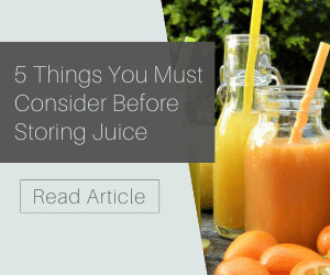 5 Things You Must Consider Before Storing Juice