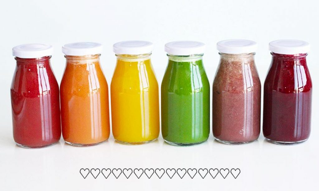 Rainbow Juice Recipe