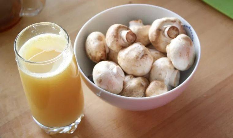 mushroom juice